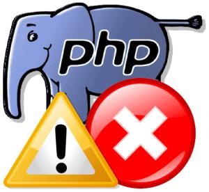 As Mensagens de Erros Mais Comuns do PHP